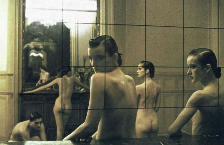 'Five Girls in a Room in Pigalle, Paris'